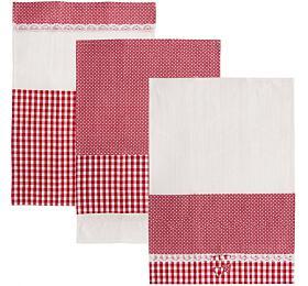Orion Dot Gifty bavlna 70x50 cm, červená