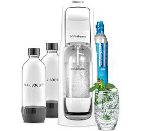 SodaStream JET WHITE +Lahev DuoPack 1l