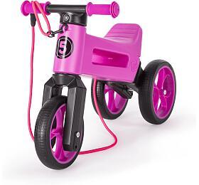 Funny Wheels Rider SuperSport 2v1 fialové krabice