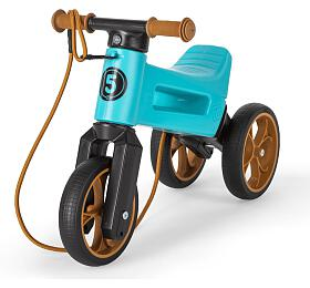 Funny Wheels Rider SuperSport 2v1 tyrkys