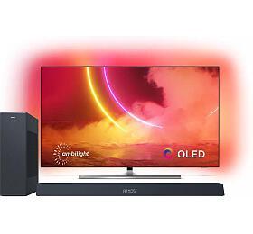 SET UHD OLED TV Philips 55OLED855 + TAB8405
