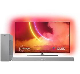 SET UHD OLED TV Philips 55OLED855 + TAB8505