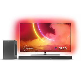 SET UHD OLED TV Philips 55OLED855 + TAB8905