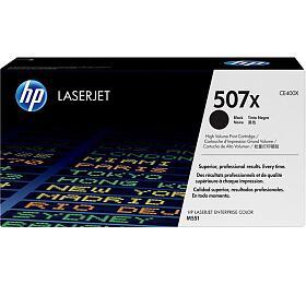 HP 507X, 11000 stran originální -černý