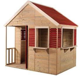 Marimex domeček dětský dřevěný Letní vila +DÁREK