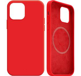FIXED MagFlow spodporou Magsafe pro Apple iPhone 12Pro Max, červený