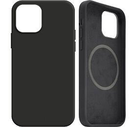 FIXED MagFlow spodporou Magsafe pro Apple iPhone 12mini, černý