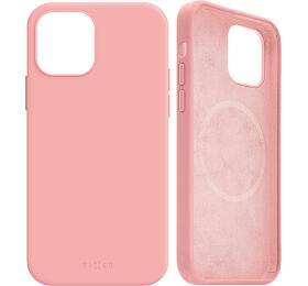 FIXED MagFlow spodporou Magsafe pro Apple iPhone 12mini, růžový