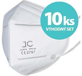 SET 10ks respirátor FFP2