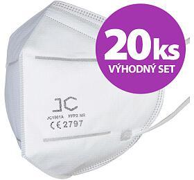 SET 20ks respirátor FFP2