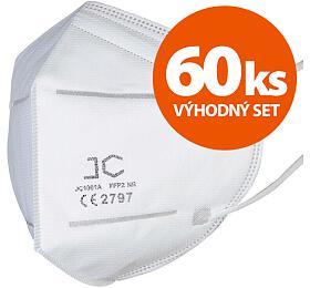 SET 60ks respirátor FFP2