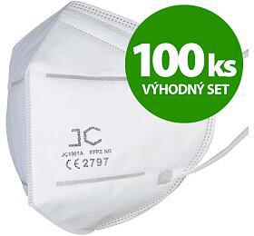 SET 100ks respirátor FFP2
