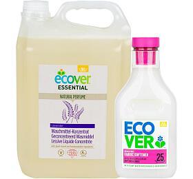 Ecover koncentrovaný 5l ECOCERT +Aviváž Květy jabloně amandle 750 ml