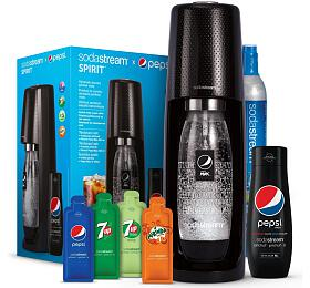 SodaStream Spirit Black Pepsi MegaPack +sirup Pepsi Max 440 ml