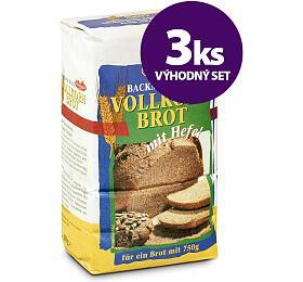 SET 3xSměs celozrnný chléb 750g Domo