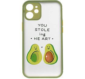 COLORWAY Smart Matte 3DPrint Case/ Apple iPhone 12mini/ Avocado green