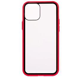 COLORWAY Smart Clear Case/ Apple iPhone 12Pro/ Červený