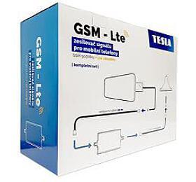 TESLA GSM-LTE, zesilovač/opakovač GSM signálu, sada, vrácené do14-ti dnů