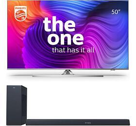 SET UHD LED TV Philips 50PUS8506 + TAB8805