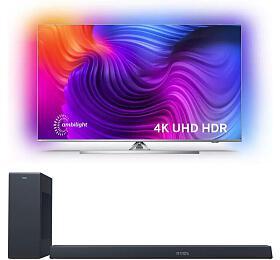 SET UHD LED TV Philips 43PUS8506 + TAB8805
