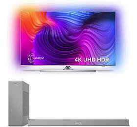 SET UHD LED TV Philips 43PUS8506 + TAB8505
