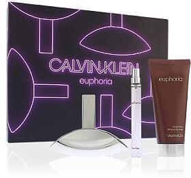 Calvin Klein Euphoria parfémovaná voda 100 ml+ tělové mléko 200 ml+ parfémovaná voda 10ml dárková sada Pro ženy
