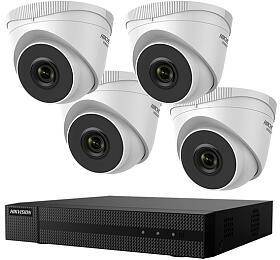 Hikvision HiWatch HWK-N4142TH-MH NVR, 4x IPkamery, 1TB HDD