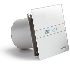 CATA e100 GTH sklo hygro časovač bílý