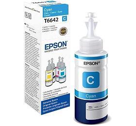 Epson T6642, 70ml originální - modrý