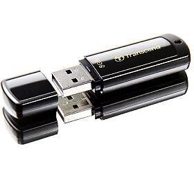 Transcend JetFlash 350 8GB USB 2.0 -černý