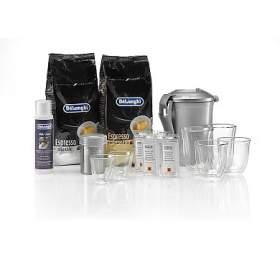 DeLonghi DeLuxe pack káva +příslušenství
