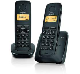 Domácí telefon Siemens Gigaset A120 duo -černý