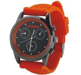 Náramkové hodinky Hyundai -oranžové