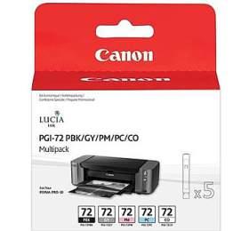 Canon PGI-72 MBK/C/M/Y/R originální -černá/červená/modrá/žlutá
