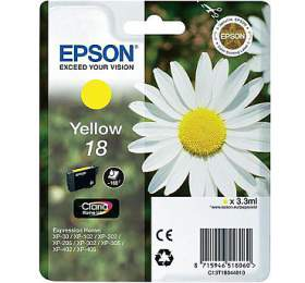 Epson T1804, 180 stran originální -žlutá