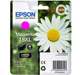 Epson T1813 XL, 450 stran originální -červená