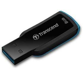 Transcend JetFlash 360 8GB USB 2.0 -černý/modrý