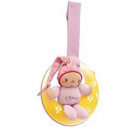 CHICCO měsíček hrající růžový