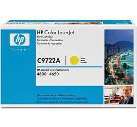 HP C9722A, 8Kstran originální -žlutý