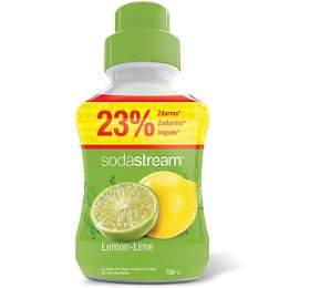 Příchuť Lemon Lime VELKÝ 750ml SODA SodaStream
