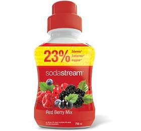 Příchuť Red Berry Velký 750ml SODA SodaStream