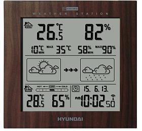 Hyundai WS 2244, barva dřeva
