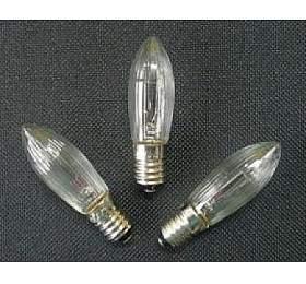 Vánoční žárovky 34V - ČIRÉ