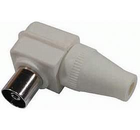 Koaxiální zásuvka PAU 50, úhlová