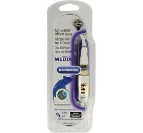 BANDRIDGE Personal Media HDMI mini digitální kabel, 2m, BBM34500W20 Bandridge