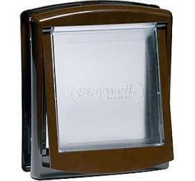 Staywell stransparentním flapem 755 -hnědá