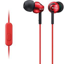 Sony MDR-EX110AP -červená