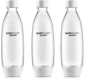 Sodastream SOURCE/PLAY 3Pack 1l bílá