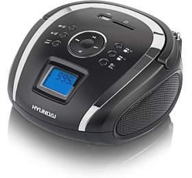 Hyundai TR 1088 SU3BS, MP3/USB/SD, černý/stříbrný