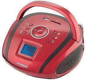 Hyundai TR 1088 SU3RB, MP3/USB/SD, červený/černý